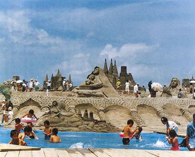 1991吹上浜砂の祭典