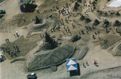 1998吹上浜砂の祭典
