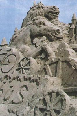 2001吹上浜砂の祭典