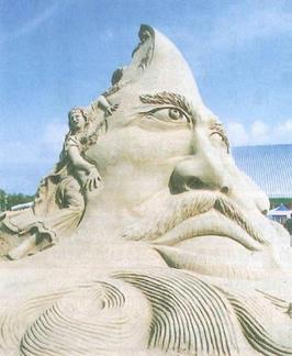 2005吹上浜砂の祭典