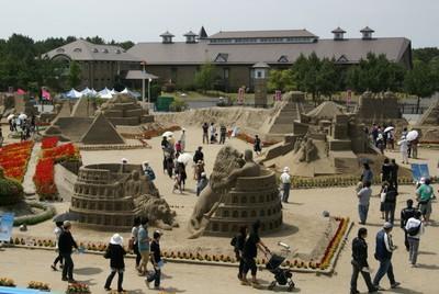 2010吹上浜砂の祭典