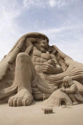 2011吹上浜砂の祭典