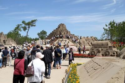 2012吹上浜砂の祭典