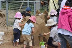 砂像コンテストファミリー大会