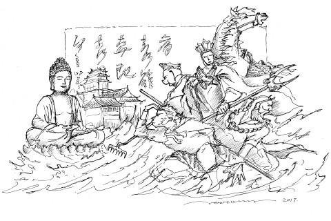 JOOheng Tang(ジョーヘン タン)作品デッサン