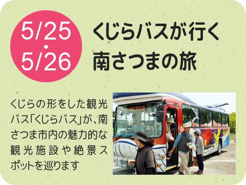くじらバスが行く南さつまの旅