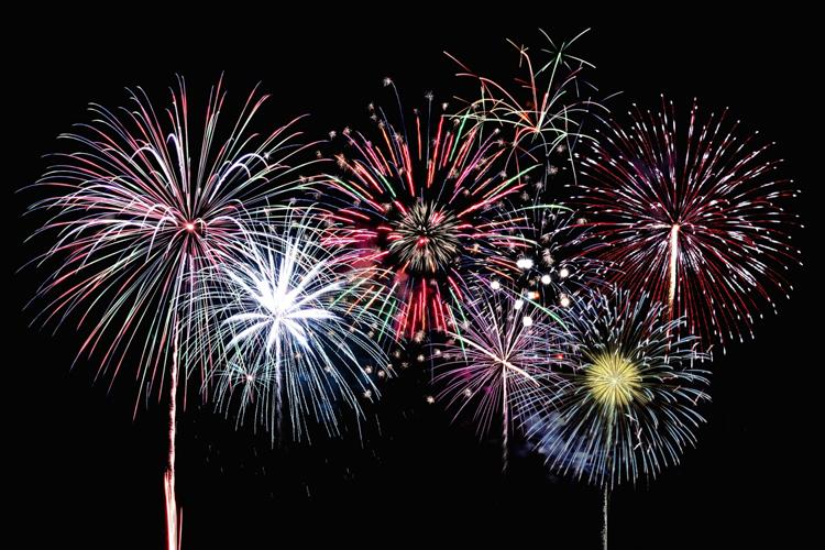 吹上浜砂の祭典の花火