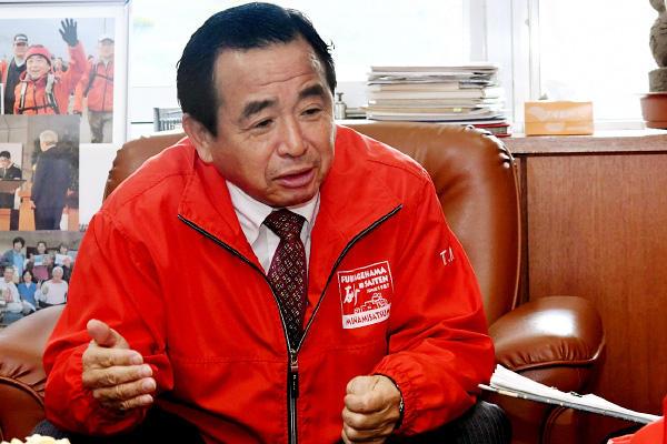南さつま市長 本坊輝雄(吹上浜砂の祭典実行委員会 会長)
